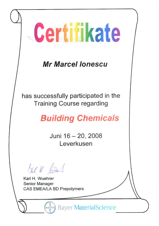Certificat Bayer