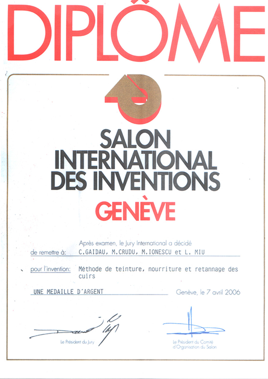 Diploma GENEVA